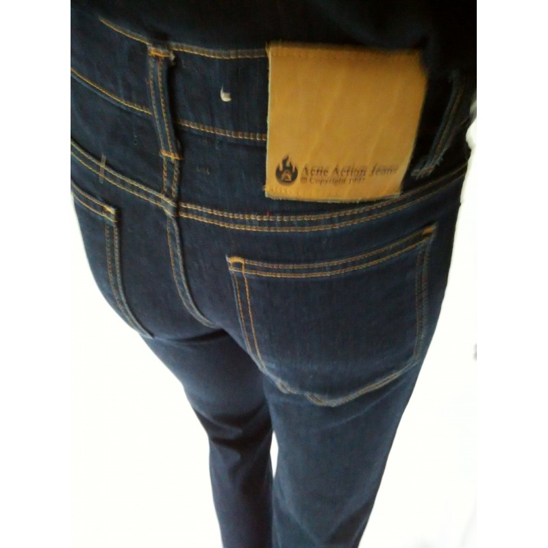 acne action jeans