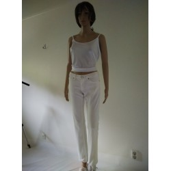 ACNE Action Jeans White Skinny