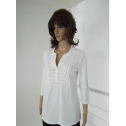 White design Blouse - Karin Scott