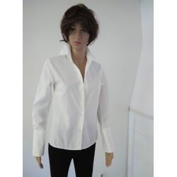 Long White office Shirt