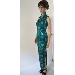 Luxury High Quality Long Chinese Vintage Gown
