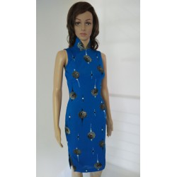 Elegant Knee Length Cheongsam