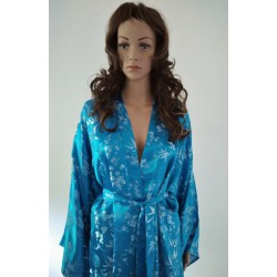 Chinese Women Silk Robe Japanese Geisha gown