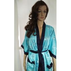 Rayon Womens Kimono Satin Robe